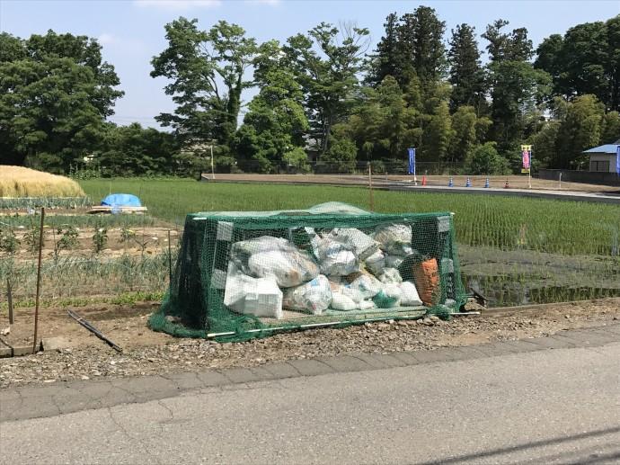 竹林ゴミステーション